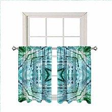 Kaleidoscope Blackout Curtain Window