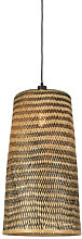 Kalimantan Large Pendant - / Bamboo - H 66 cm by