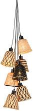 Kalimantan Pendant - / 7 lampshades by GOOD&MOJO