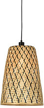 Kalimantan Small Pendant - / Bamboo - H 48 cm by
