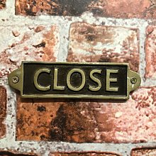 Kalinowski Close Door Sign Sol 72 Outdoor