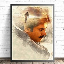 Kalyan Pawan India Movie Star Poster And Canvas