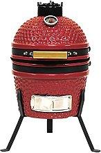 Kamado Jomo - Ceramic Charcoal Grill, 34 cm Blaze
