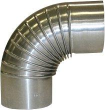 Kamino-Flam 90° Elbow Pipe Ø 110mm, Hot-dip