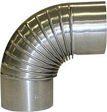 Kamino-Flam 90° Elbow Pipe Ø 150mm, Hot-dip