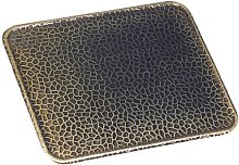 Kamino-Flam Antique Brass Floor Plate, Suitable as