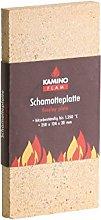 Kamino-Flam Chamotte Plate, Refractory Fireclay