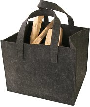 Kamino-Flam Felt Fireplace Firewood Basket with