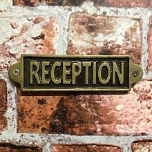Kamp Reception Door Sign Sol 72 Outdoor