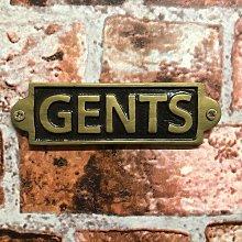 Kanagy Gents Door Sign Sol 72 Outdoor
