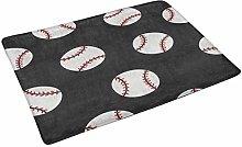 Kanaite Baseball Doormat Anti-Slip Entrance Mat