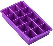 Kanggest Ice Cube Mould 15 Holes Silicone Ice