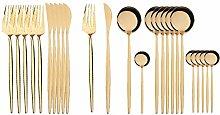 KangKangPL Cutlery Set, 24Pcs 18/10 stainless