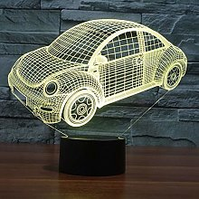 KangYD 3D Night Light Creative Car Model, LED