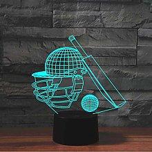 KangYD 3D Night Light Cricket Decor Lamp, LED