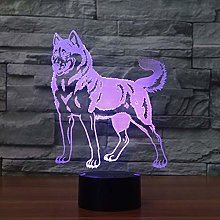 KangYD 3D Night Light Dog Doberman Pinscher, LED