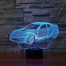 KangYD 3D Night Light Family Car Decor Lamp, LED