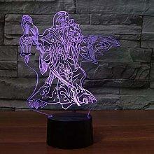 KangYD 3D Night Light Game Figure Model, LED