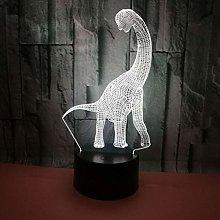 KangYD 3D Night Light Long Necked Dinosaur, LED