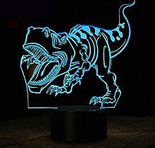 KangYD 3D Night Light Tyrannosaurus Dinosaur, LED