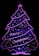 KangYD Christmas Decor Tree 3D Night Light, LED