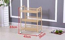 KANJJ-YU Storage shelf Shelf Small cart