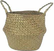 KANKOO Belly Basket Flower Pot Seed Pots Planters