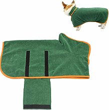 KANKOO Dog Drying Coat Dog Towel Dog Bathrobe