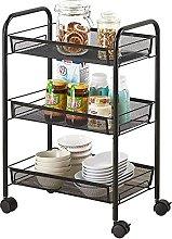 KANULAN Storage Trolleys 3 Layer Kitchen Storage