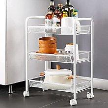 KANULAN Storage Trolleys Kitchen Bathroom Storage