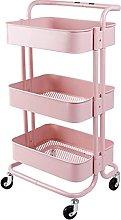 KANULAN Storage Trolleys shelf 3 Tier Utility