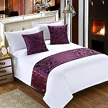 KaO0YaN Bed Runner Scarf Bed Flag Simple European