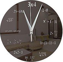 KaO0YaN Wall Clock- Mirror Wall Clock- Novelty