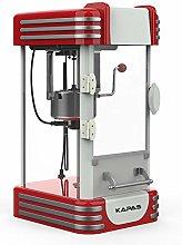 KAPAS Popcorn Machine, Red Tabletop Popcorn Popper