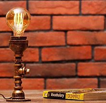 Kaper Go Desk Lamp Retro Industrial Style Plumbing