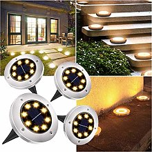 Kaper Go Solar Light, Solar Ground Light, 8 LEDs,