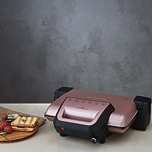 Karaca Rosegold Grill & Toaster by Luxware,