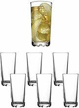 Karaman Clear Long Highball Tumbler Glasses Water