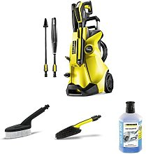 Karcher K4 Full Control Pressure Washer with Bike