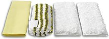 KARCHER Steam Cleaner for Microfiber Cloth Set