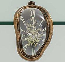 Kare 34822 Antique Flow Table Clock, Black