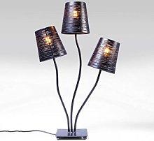 KARE Flexible Black Tre table lamp