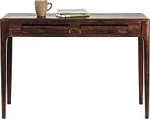 Kare Laptop Brooklyn Walnut Small Desk in Dark