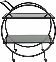 Kare Tray Table Loft Black, one size