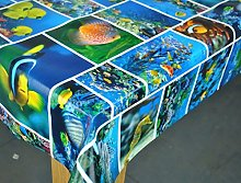 Karina Home Aquarium Fish PVC Tablecloth 200cm x