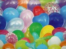 Karina Home Balloons Birthday Vinyl Tablecloth