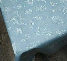 Karina Home Christmas Festive Linen Look PVC Wipe