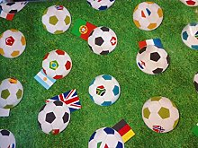 Karina Home Football PVC Tablecloth 200cm x 140cm