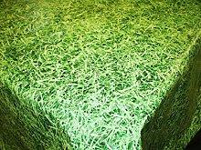 Karina Home Grass PVC Vinyl Wipe Clean Tablecloth