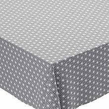 Karina Home GREY Geometric Wipe Clean Tex